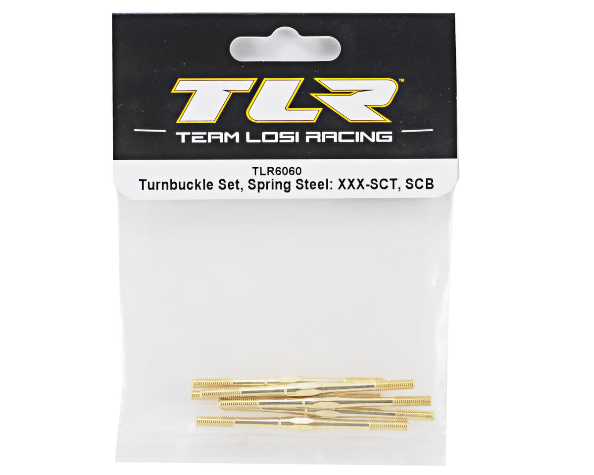 Team Losi Racing Spring Steel Turnbuckle Set (6)