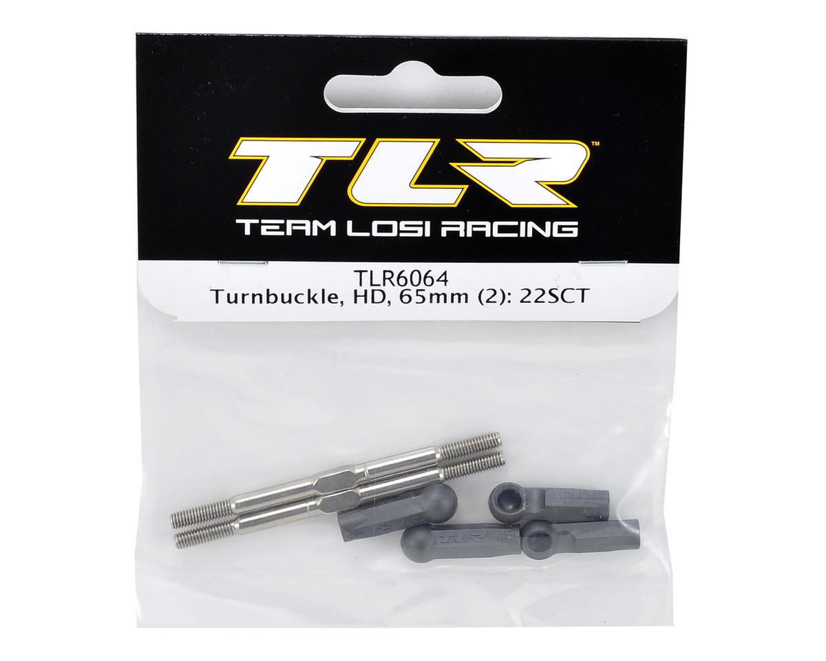Team Losi Racing 65mm HD Turnbuckle Set (2)