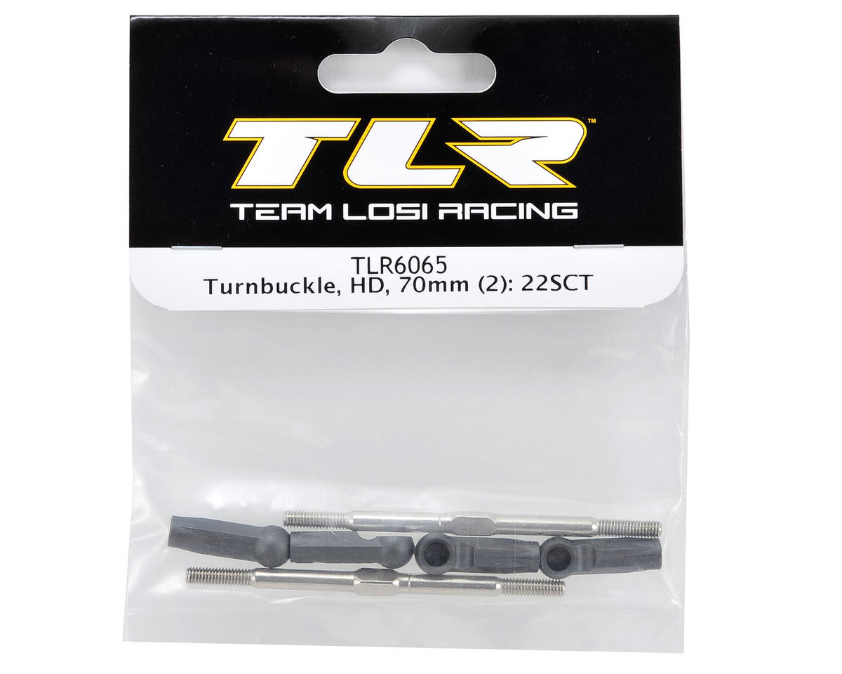 Team Losi Racing 70mm HD Turnbuckle Set (2)