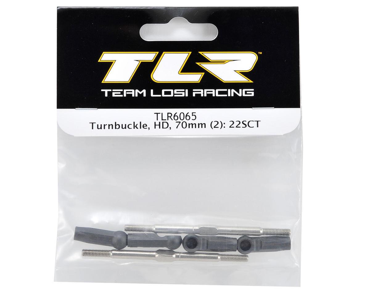 70mm HD Turnbuckle Set (2) by Team Losi Racing