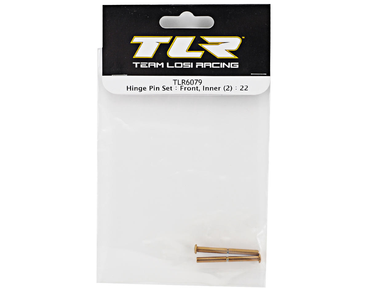 Team Losi Racing Front Inner Hinge Pin Set (2) (TLR 22)