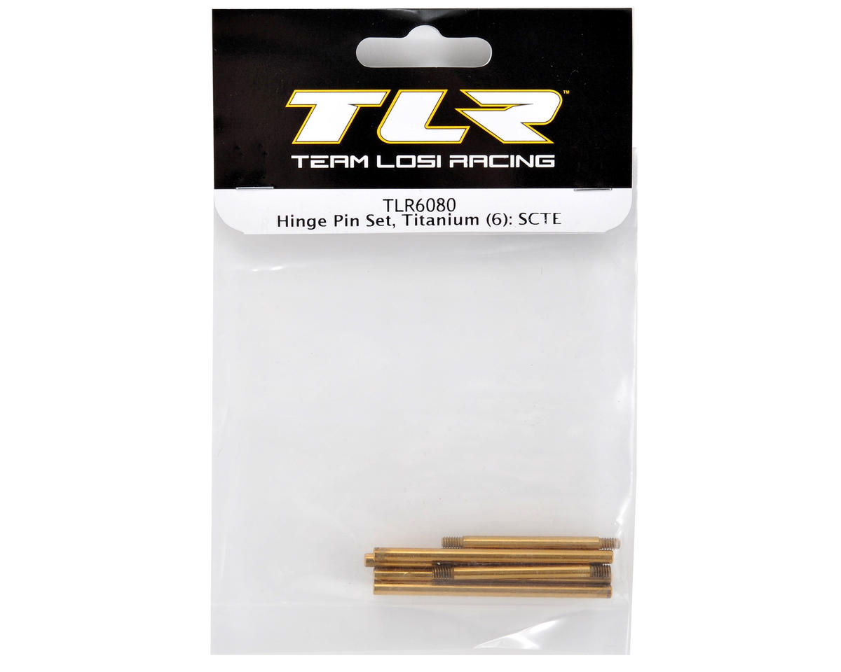 Team Losi Racing Ti-Nitride Hinge Pin Set (6)