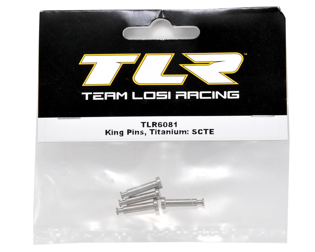 Team Losi Racing Titanium King Pin Set (4)
