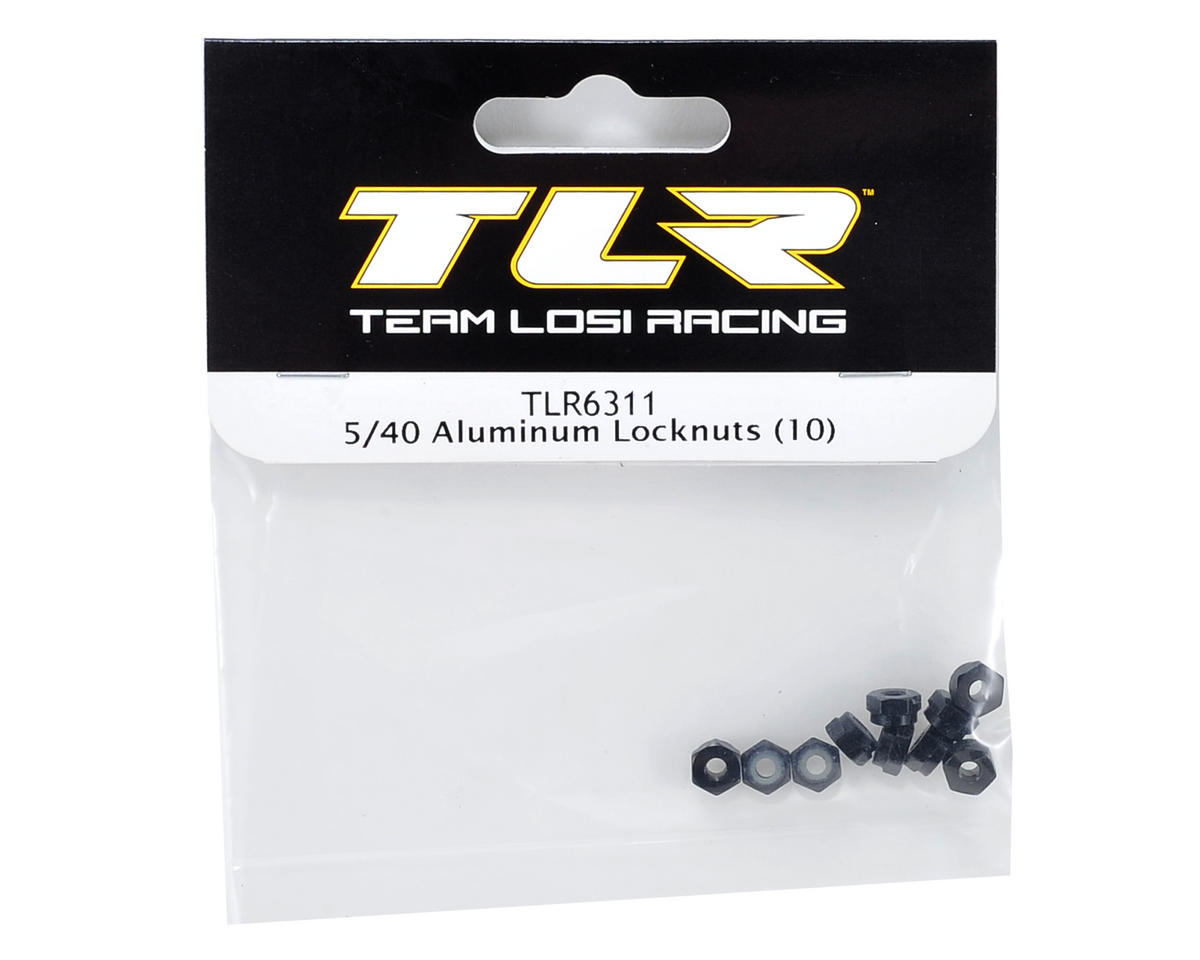5/40 Aluminum Locknut (10) by Team Losi Racing