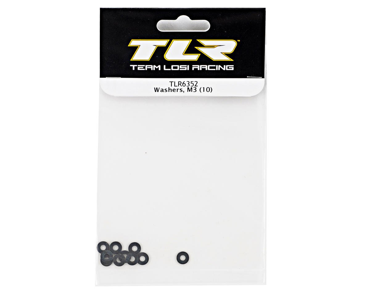 M3 Washer (10) by Team Losi Racing