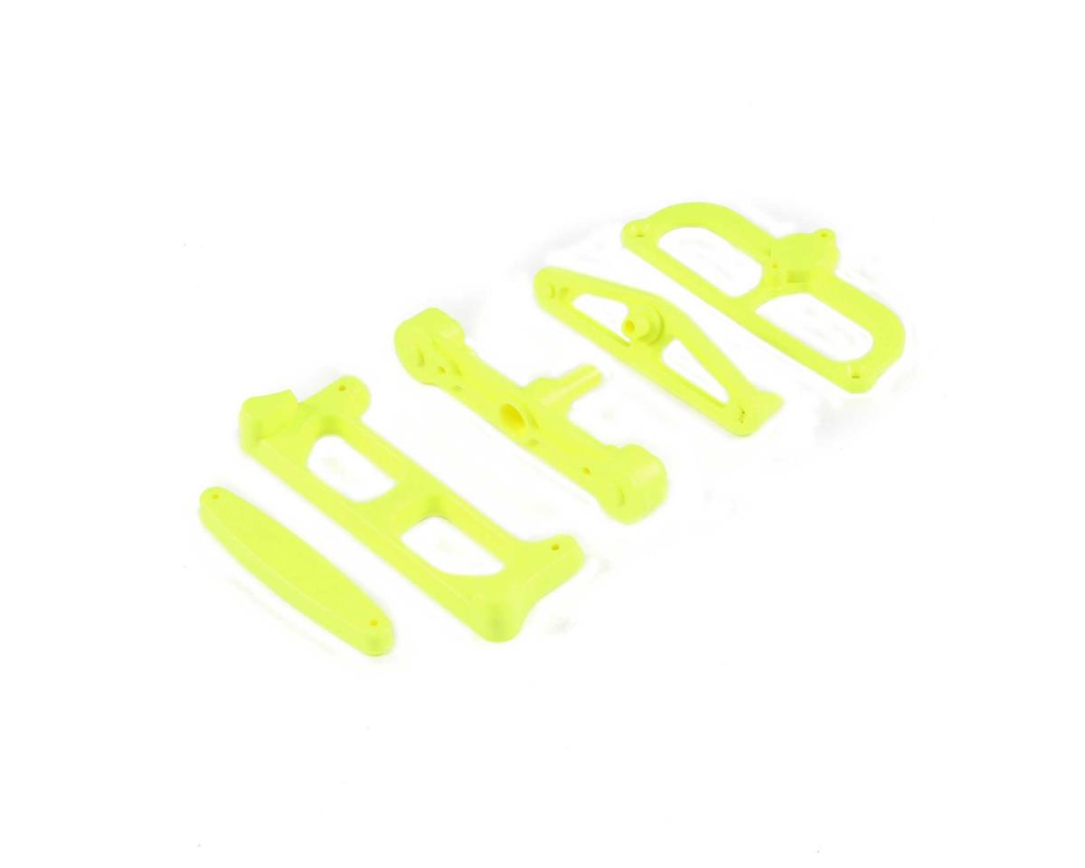 Team Losi A99059 Racing Starter Box Positioning Mounts (Fluorescent Yellow)