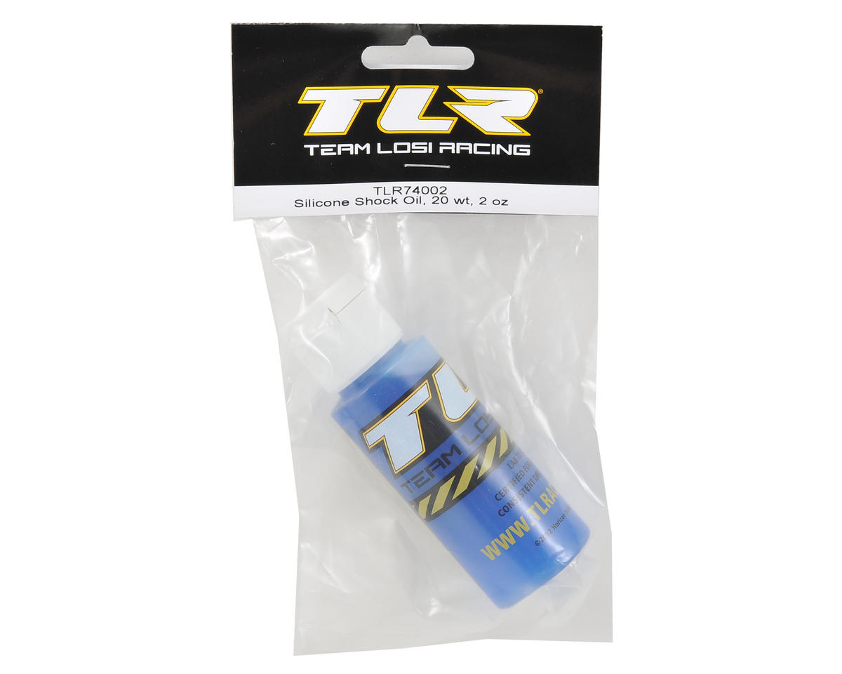Silicone Shock Oil (2oz) (20wt) by Team Losi Racing