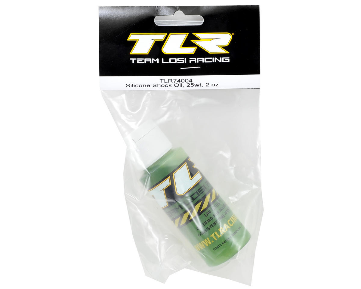 Team Losi Racing Silicone Shock Oil (2oz) (25wt)