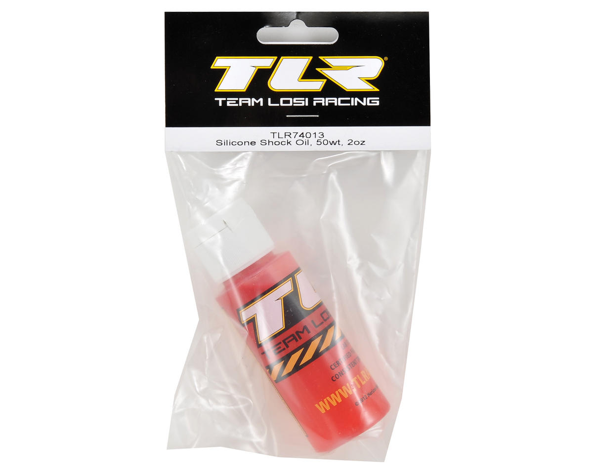 Team Losi Racing Silicone Shock Oil (2oz) (50wt)