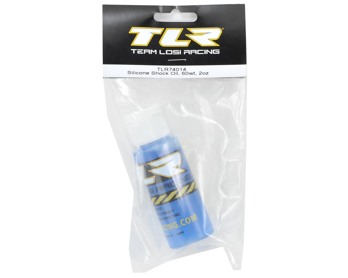 Team Losi Racing Silicone Shock Oil (2oz) (60wt)