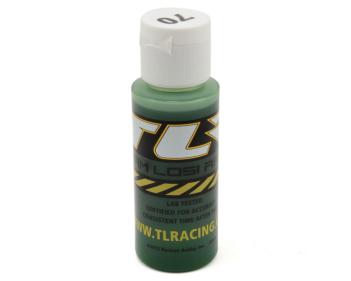 Team Losi Racing Silicone Shock Oil (2oz) (70wt)