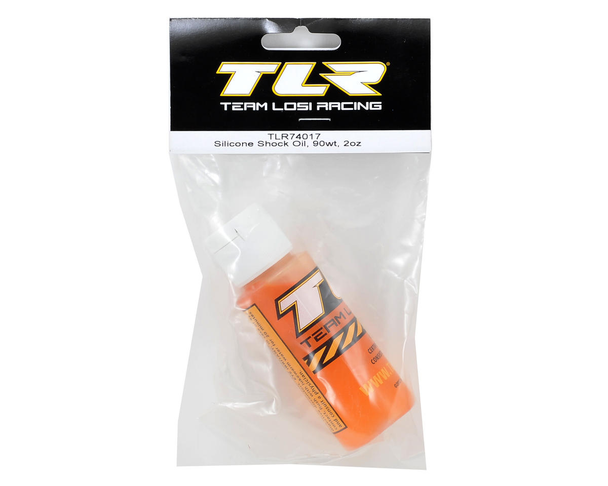 Team Losi Racing Silicone Shock Oil (2oz) (90wt)