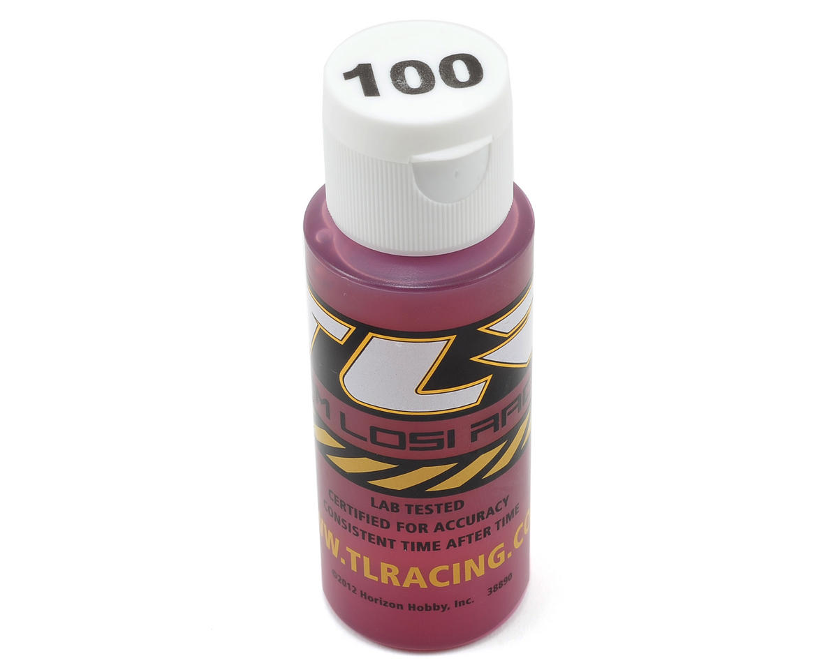 Team Losi Racing Silicone Shock Oil (2oz) (100wt)