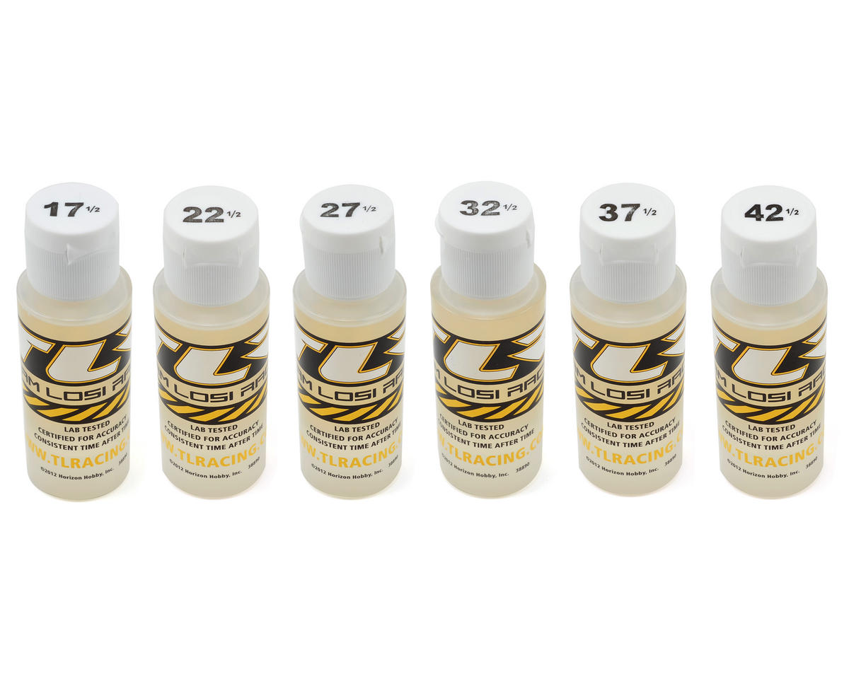 Silicone Shock Oil Six Pack (2oz) by Team Losi Racing