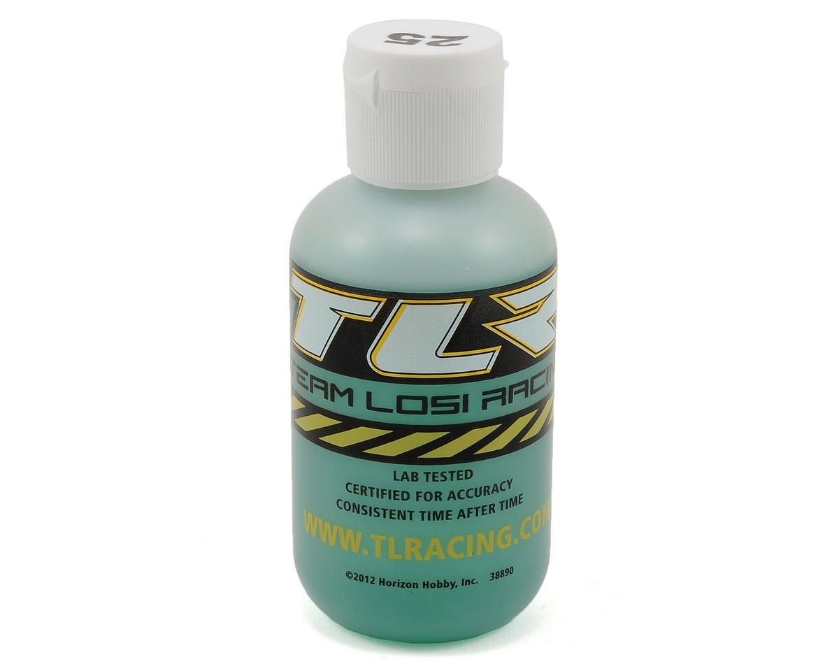 Silicone Shock Oil (4oz) by Team Losi Racing