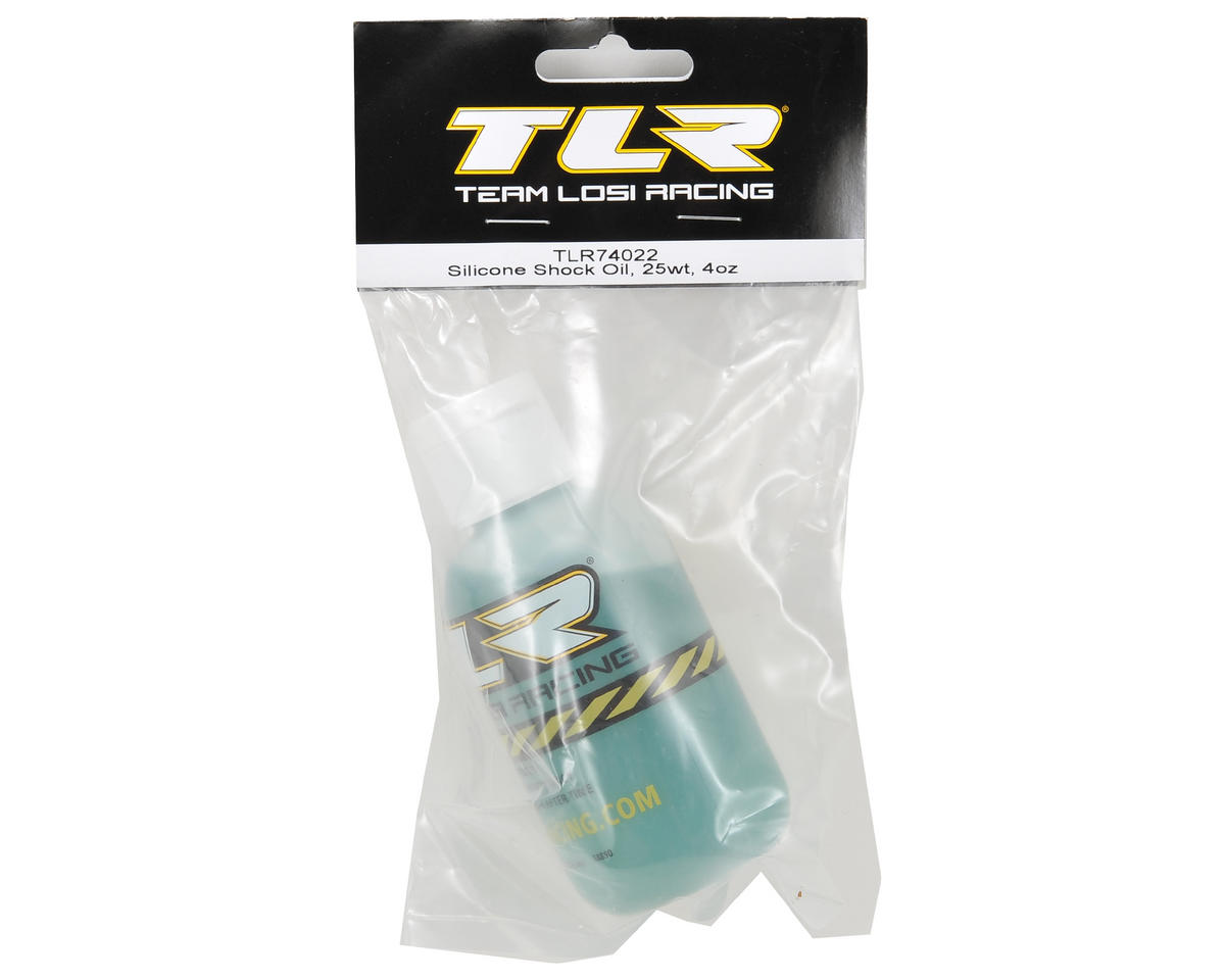 Team Losi Racing Silicone Shock Oil (4oz) (25wt)