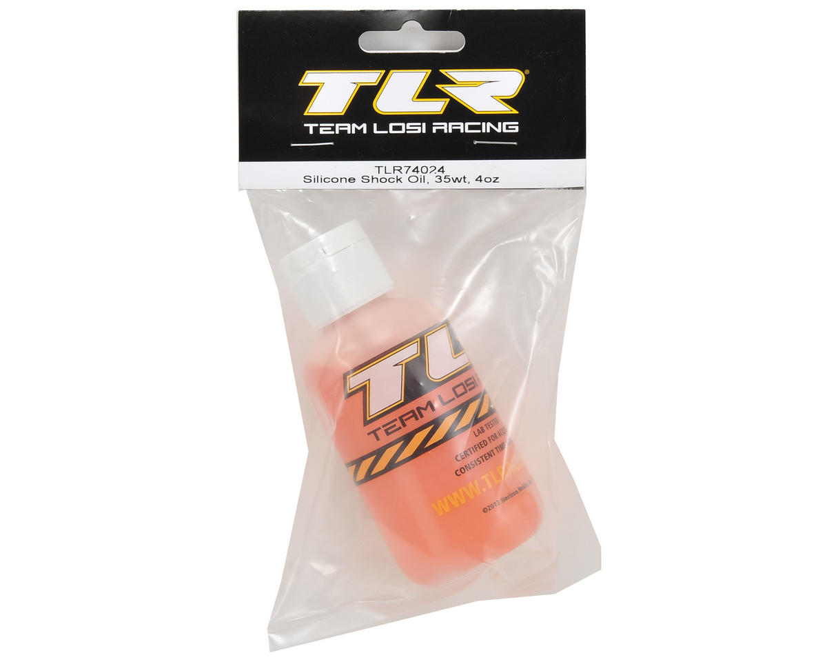 Team Losi Racing Silicone Shock Oil (4oz) (35wt)