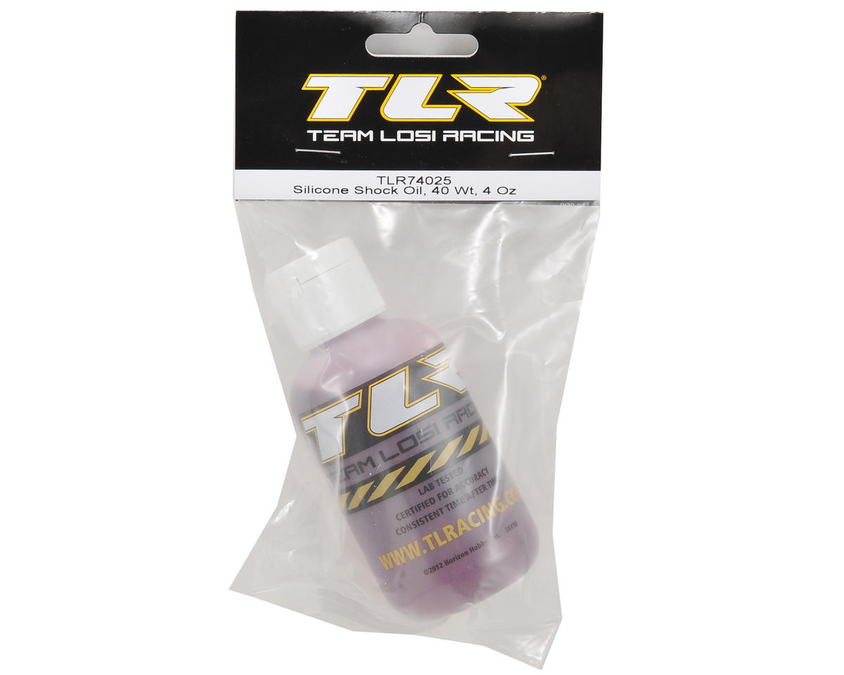 Team Losi Racing Silicone Shock Oil (4oz) (40wt)