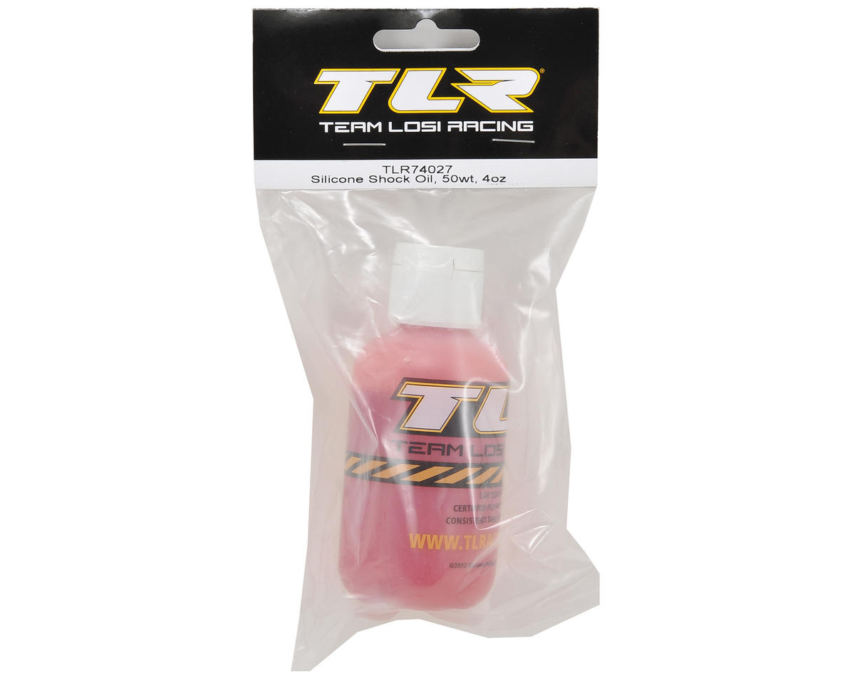 Team Losi Racing Silicone Shock Oil (4oz) (50wt)