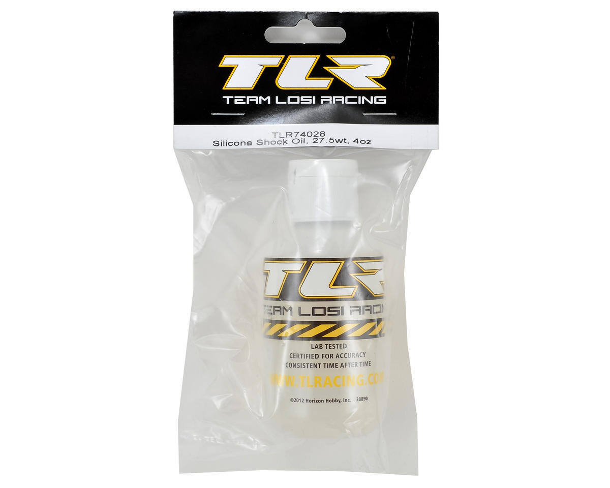 Silicone Shock Oil (4oz) (27.5wt) by Team Losi Racing
