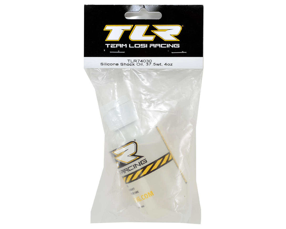 Team Losi Racing Silicone Shock Oil (4oz) (37.5wt)