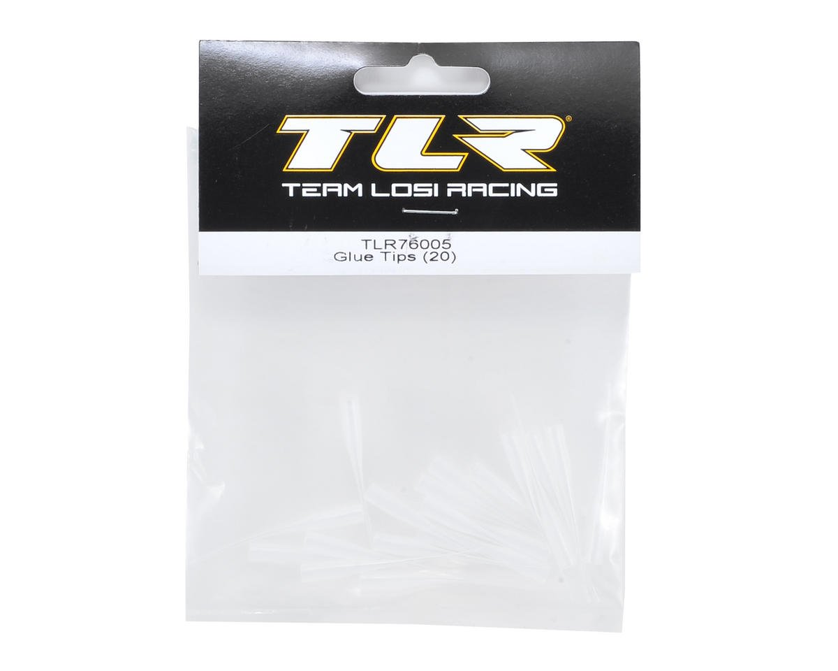 Team Losi Racing Glue Tips (20)