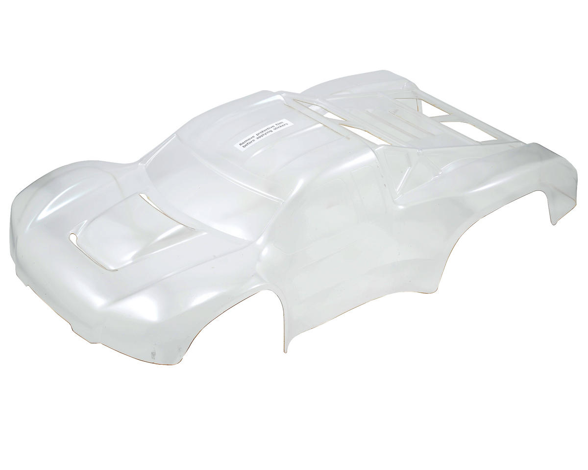 Team Losi TEN-SCT Nitro Racing Hi Performance Pre-Cut Body (Clear)