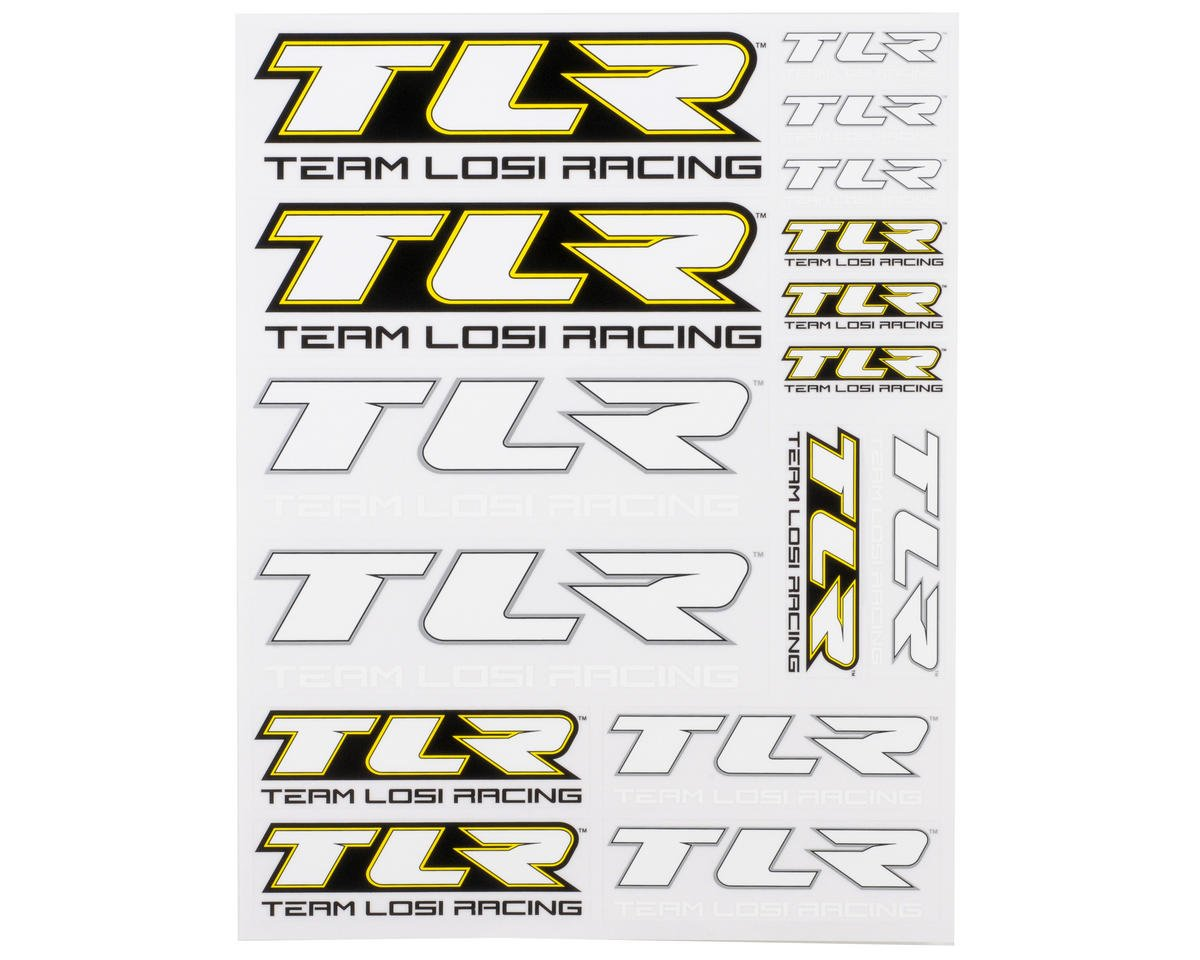 Team Losi Racing TLR Sticker Sheet | relatedproducts