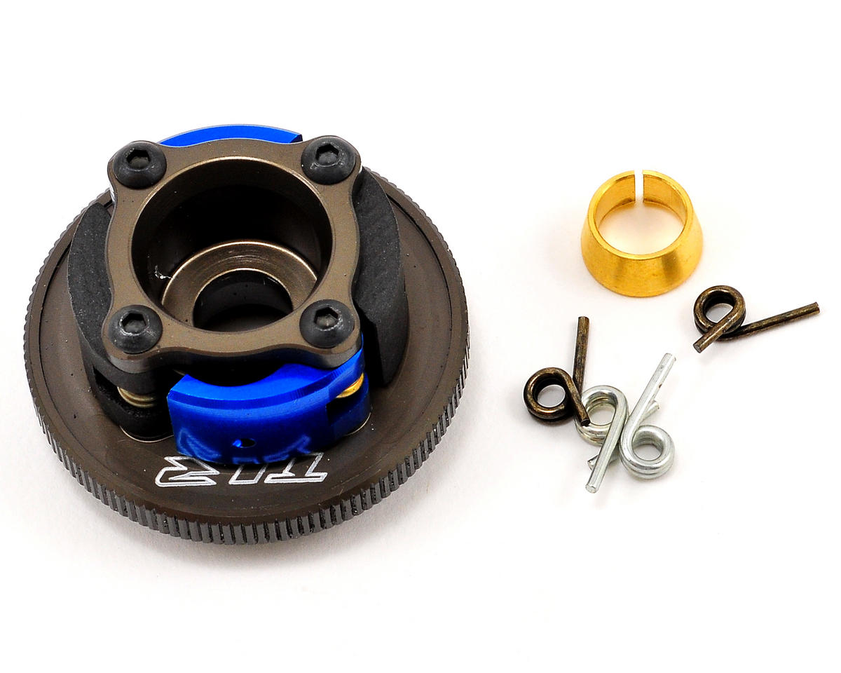 Pre-Built Aluminum 4 Shoe Clutch by Team Losi 8IGHT-T 4.0 Racing