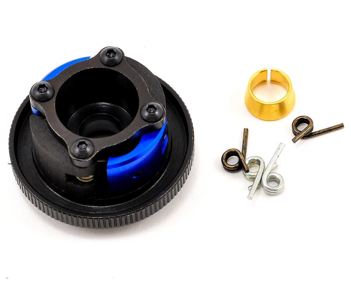 Pre-Built Steel 4 Shoe Clutch by Team Losi Racing