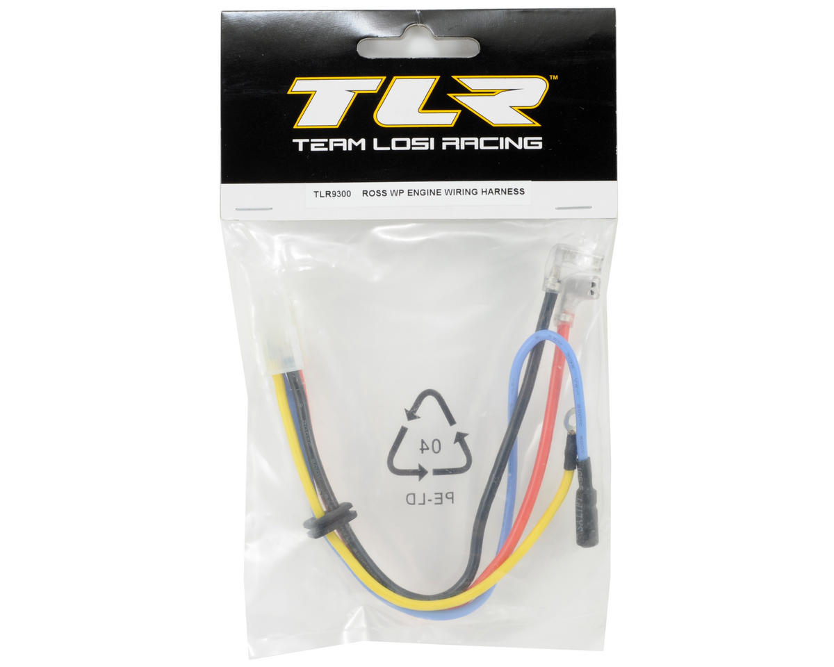 Team Losi Racing ROSS WP Engine Wiring Harness