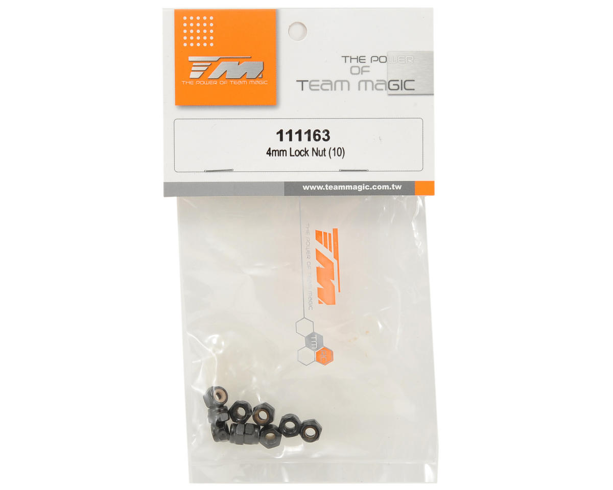 Team Magic 4mm Locknut Set (10)