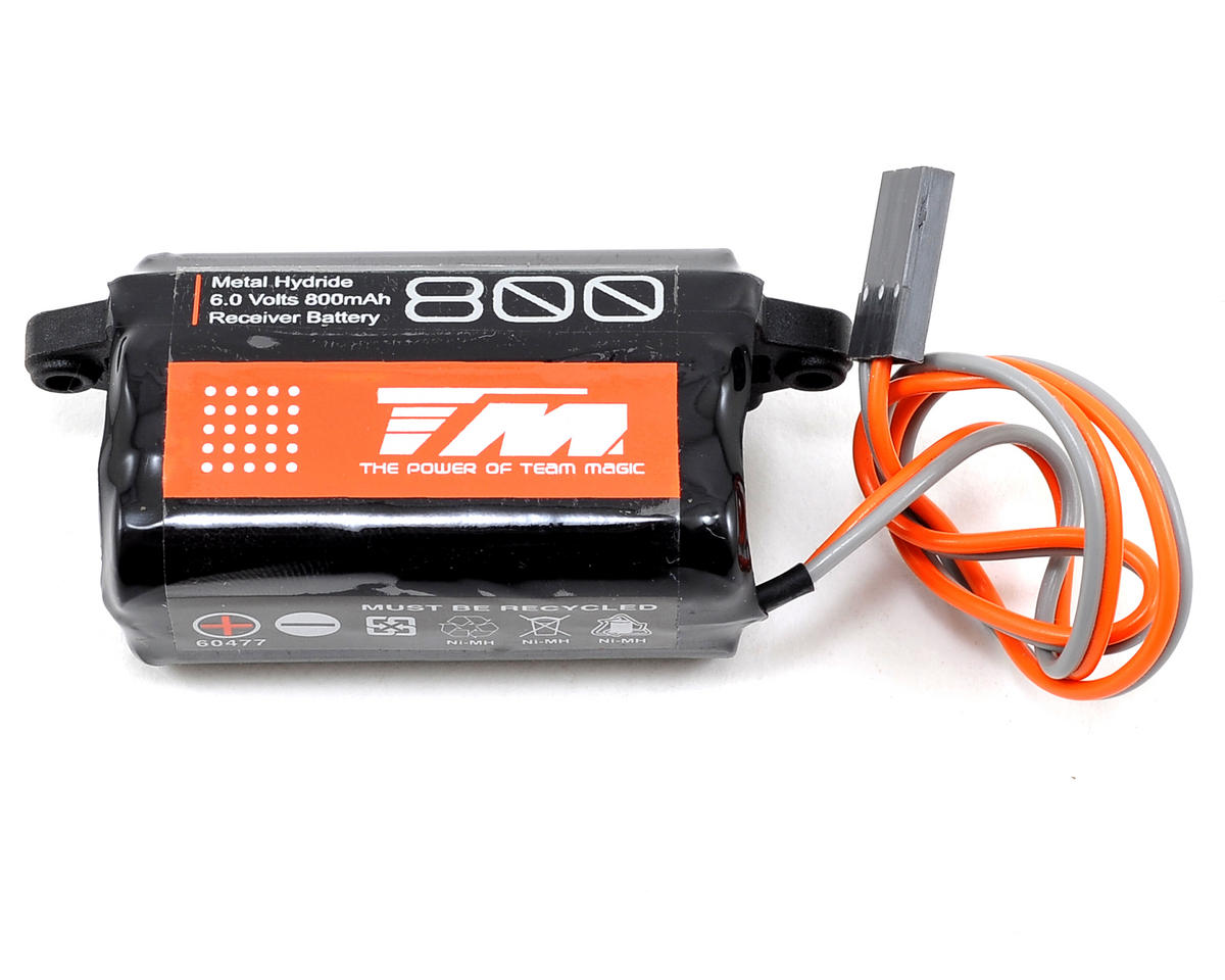 Team Magic 5-Cell NiMH Receiver Battery Pack (6V/800mAh) (G4/LeMans)