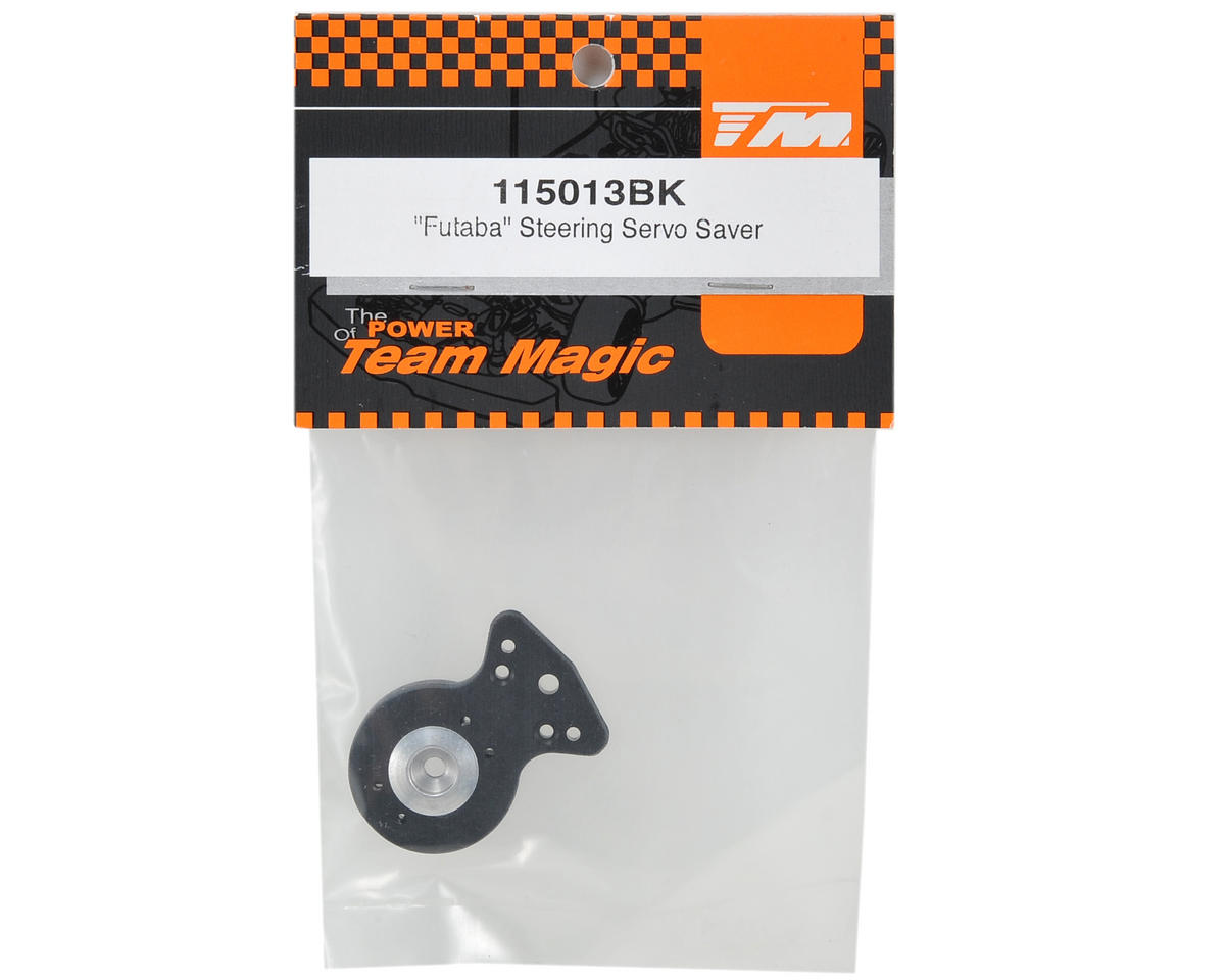 Team Magic Servo Saver (Black) (25T)