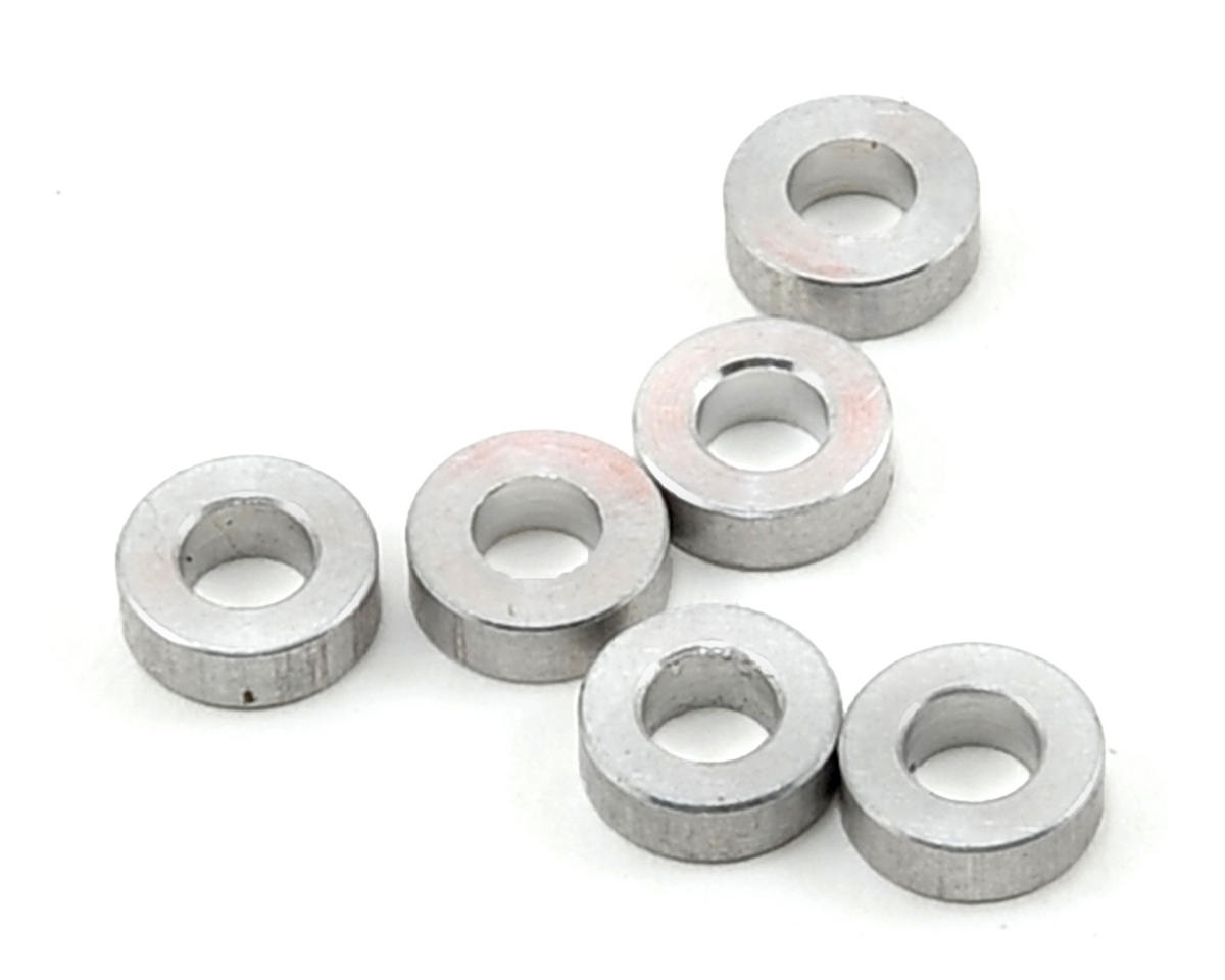 Team Magic 3x6x2mm Aluminum Washer Set (6)