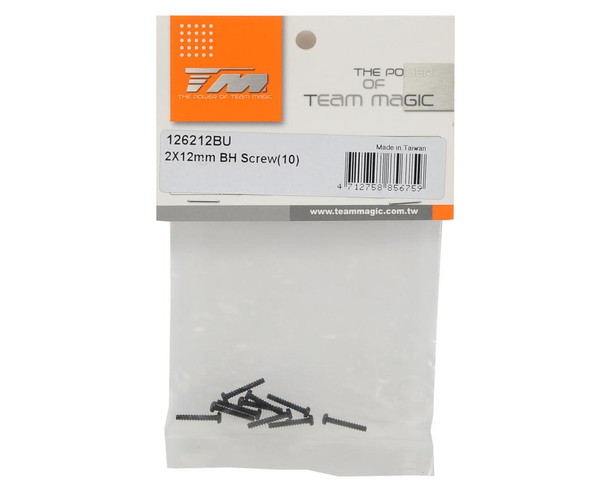 Team Magic 2x12mm Self Tapping Button Head Screw (10)