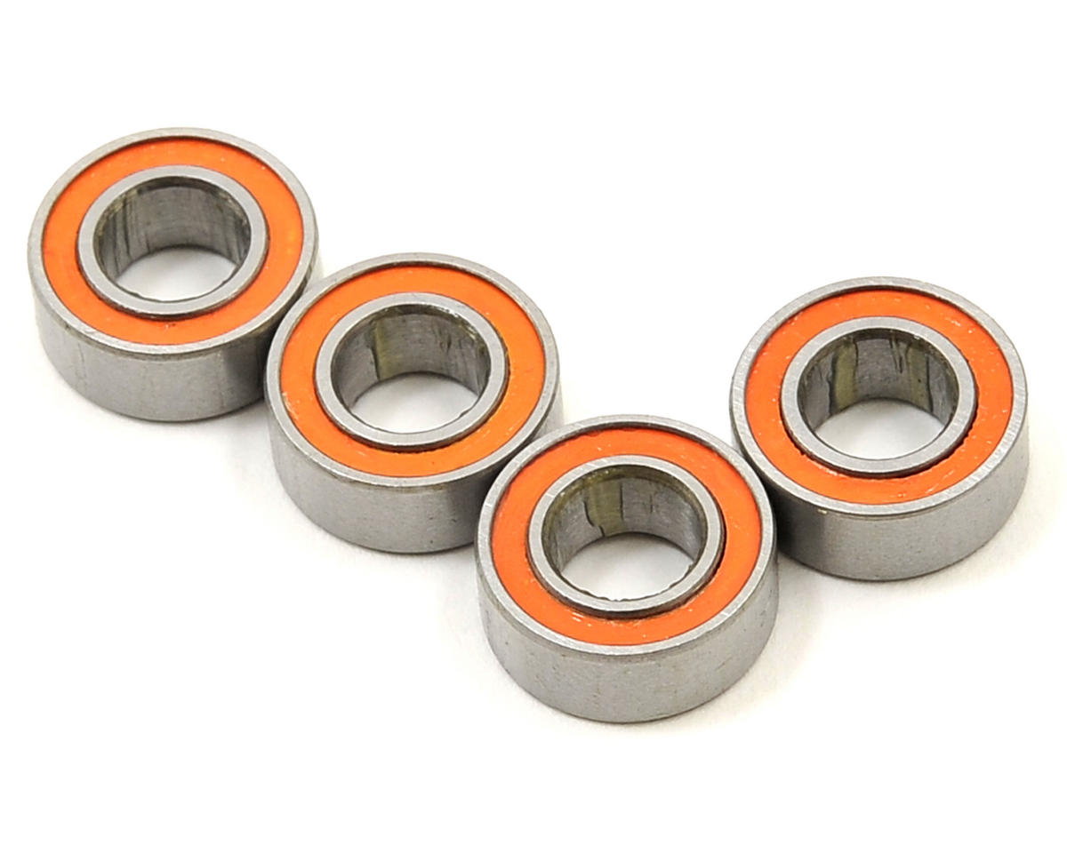 Team Magic 5x10x4mm Bearing (Orange) (4)