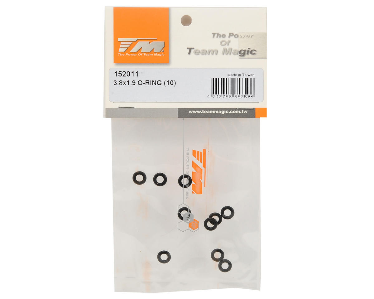 Team Magic 3.8x1.9mm O-Ring (10)
