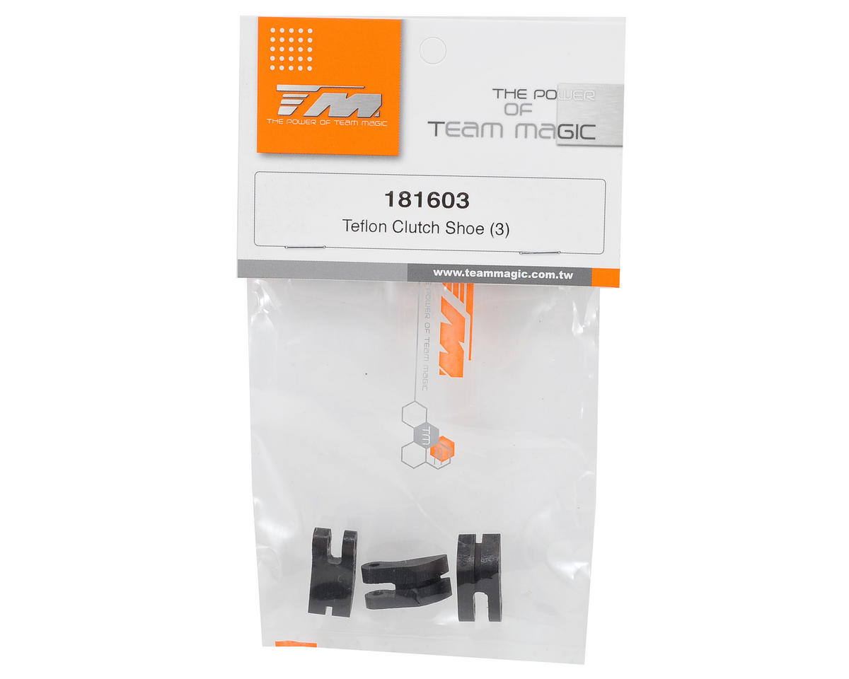 Team Magic Teflon Clutch Shoe Set (3) (G4)