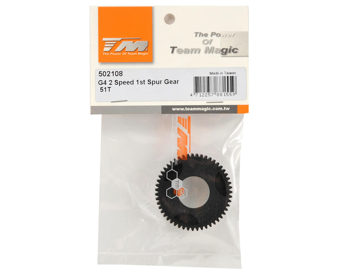 Team Magic 2-Speed 1st Spur Gear (51T)