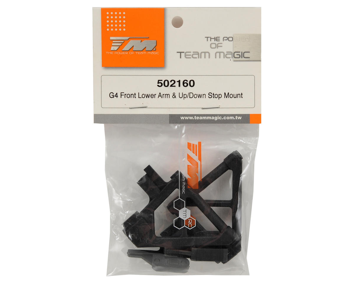 Team Magic Front Lower Arm Mount Set