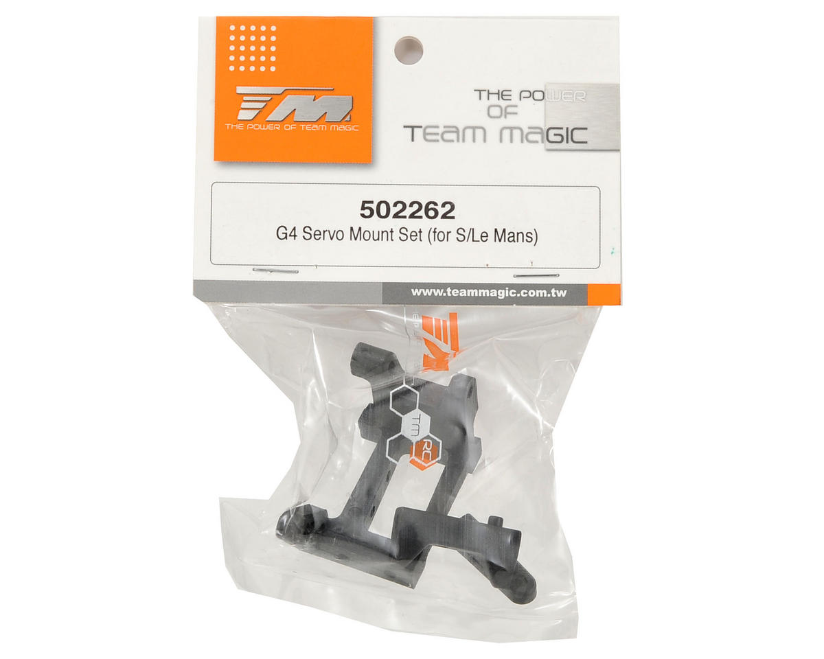 Team Magic Servo Mount Set