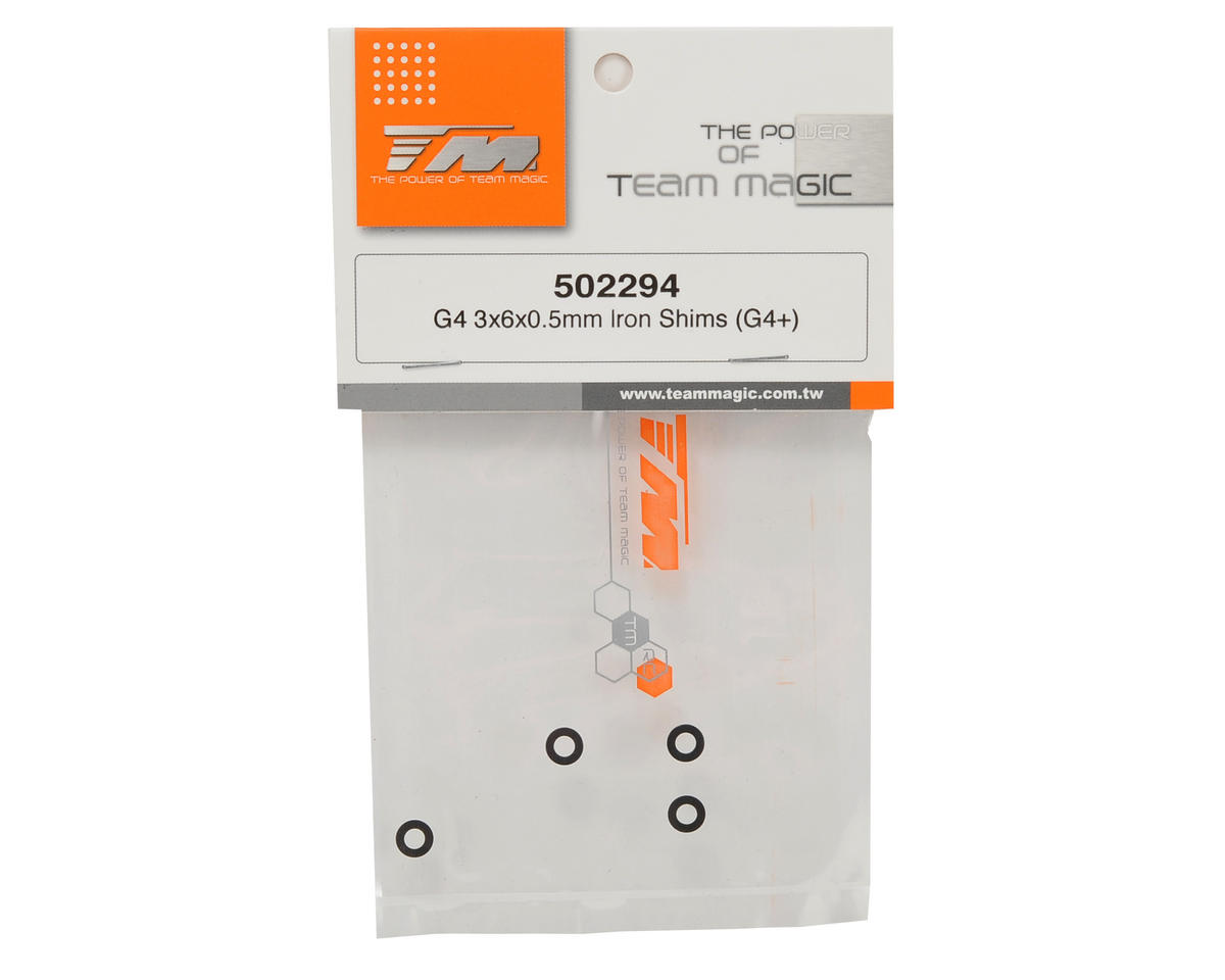 Team Magic 3x6x0.5mm Shim (4)