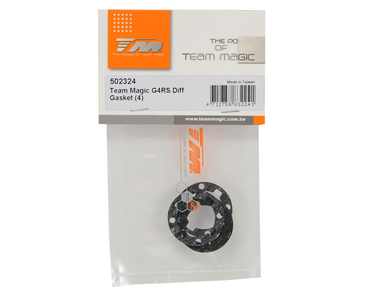 Team Magic Differential Gasket Set (4)