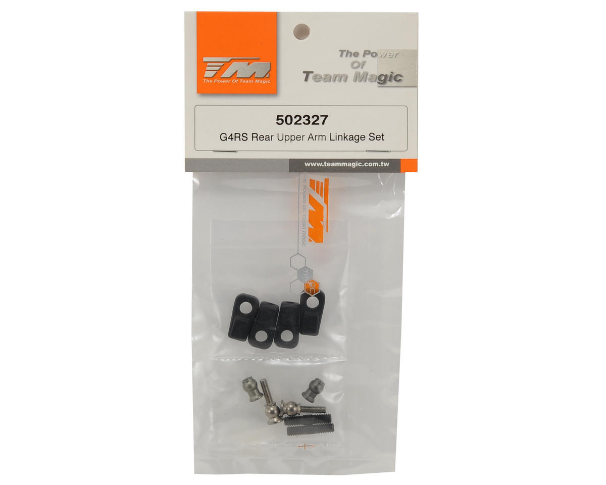 Team Magic Rear Upper Arm Linkage Set