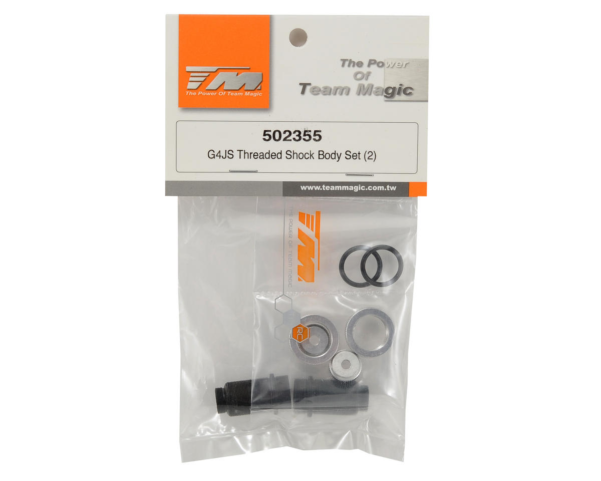 Team Magic Threaded Shock Body Set (2)