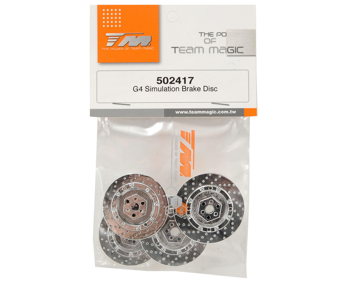 Team Magic Simulation Brake Disc Set (4)