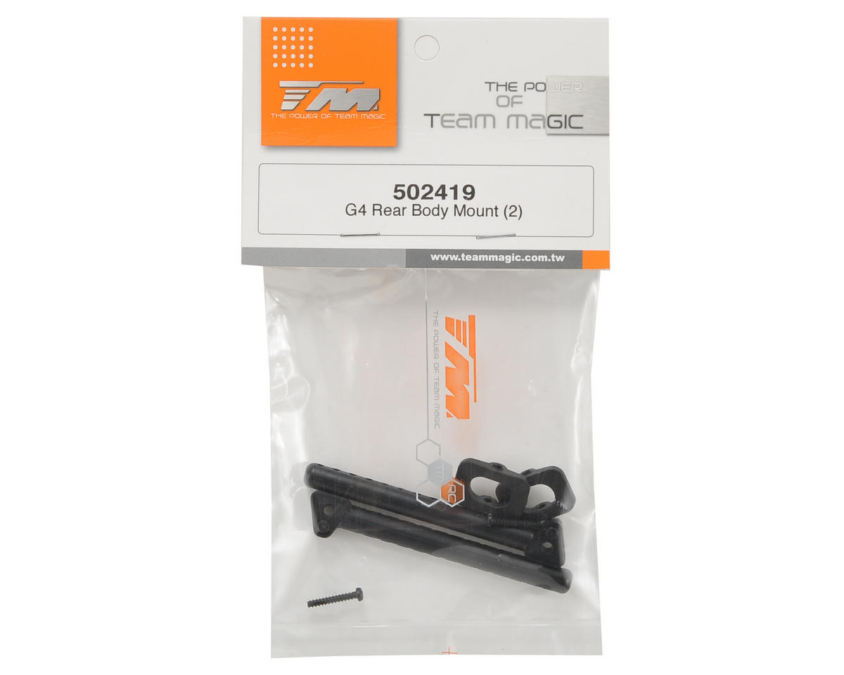 Team Magic Rear Body Mount Set (2)