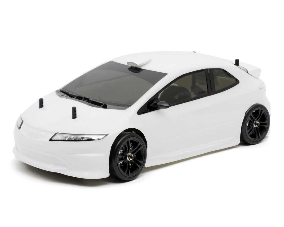 Team Magic E4D Drift Spec 1/10 Brushed RTR 4WD Touring Car w/H.A.R.D. 2.4GHz Radio (White)
