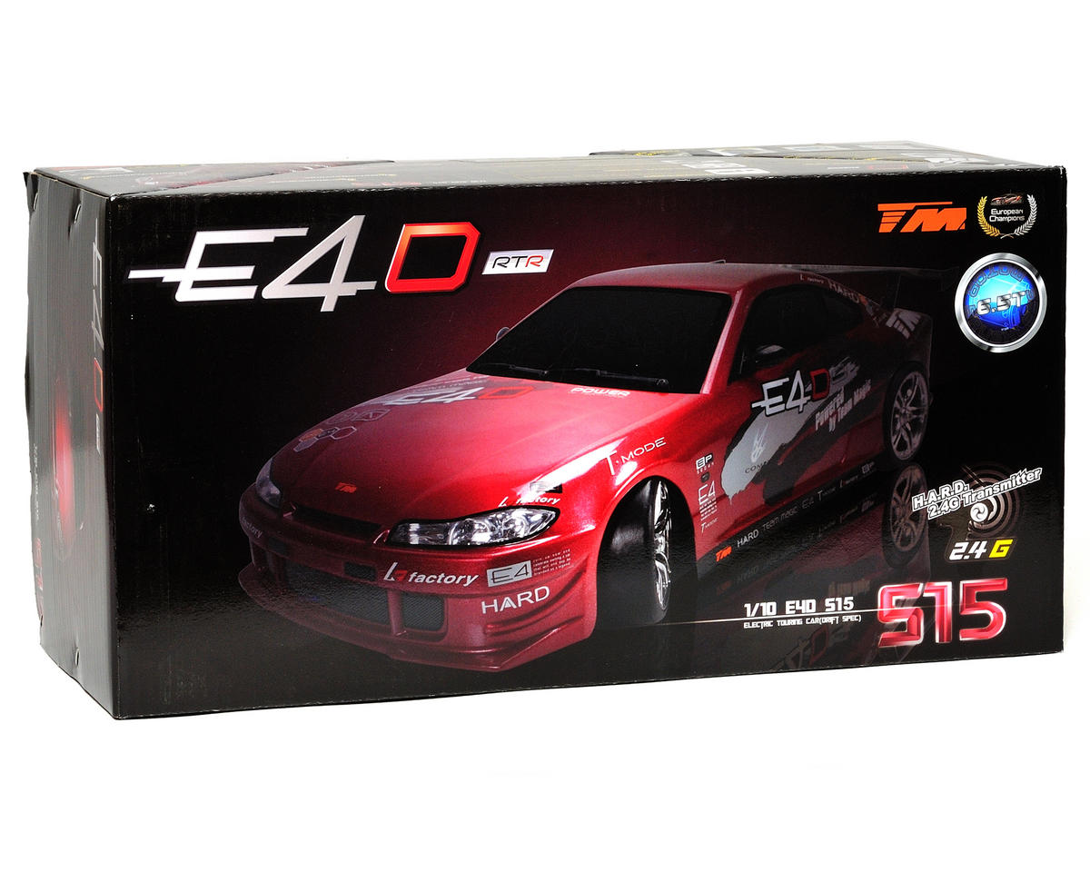 Team Magic E4D Drift Spec Brushless RTR Touring Car w/Nissan S15 Body & H.A.R.D. 2.4GHz Radio